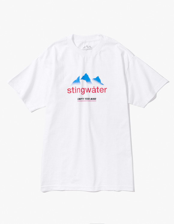 Stingwater French Alps S/S Tee - White | HEIGHTS. | 하이츠 온라인 스토어