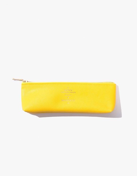 Monocle Delfonics x Monocle Pencil Case - Yellow | HEIGHTS. | 하이츠 온라인 스토어