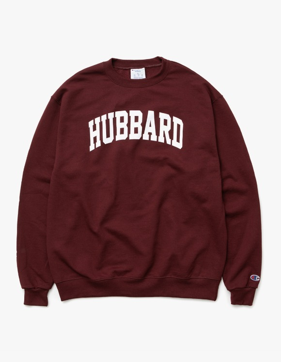 sounds good! Hubbard Crewneck - Burgundy | HEIGHTS. | 하이츠 온라인 스토어