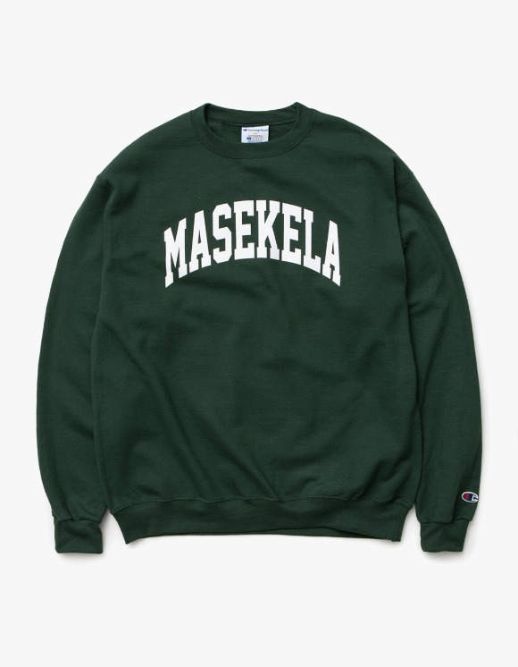 sounds good! Masekela Crewneck - Green | HEIGHTS. | 하이츠 온라인 스토어