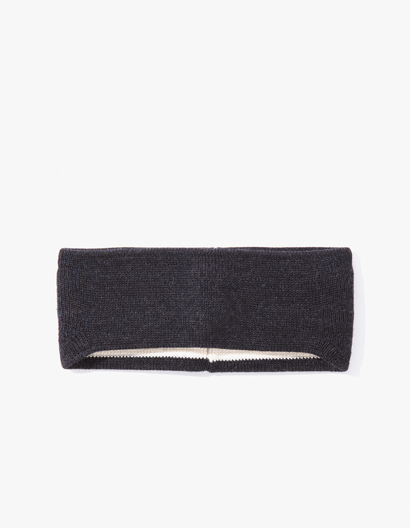 Leuchtfeuer Strickwaren Hair Band- Charcoal | HEIGHTS. | 하이츠 온라인 스토어