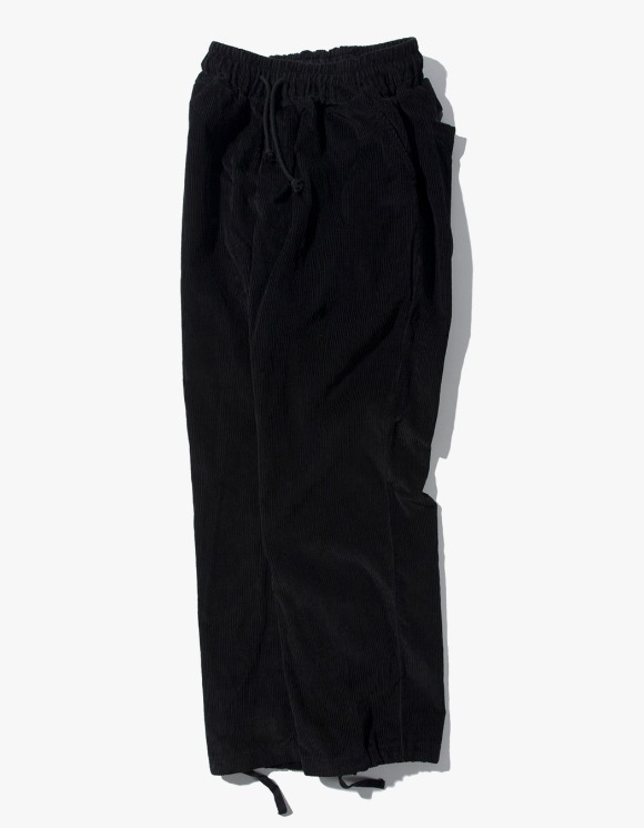Kruchi lab Corduroy Easy Pants - Black | HEIGHTS. | 하이츠 온라인 스토어