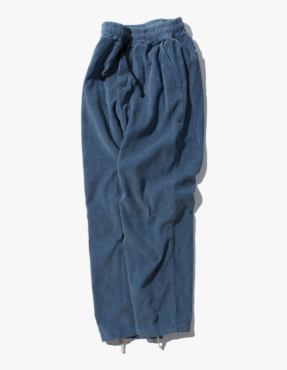 Kruchi lab Corduroy Easy Pants - Blue | HEIGHTS. | 하이츠 온라인 스토어