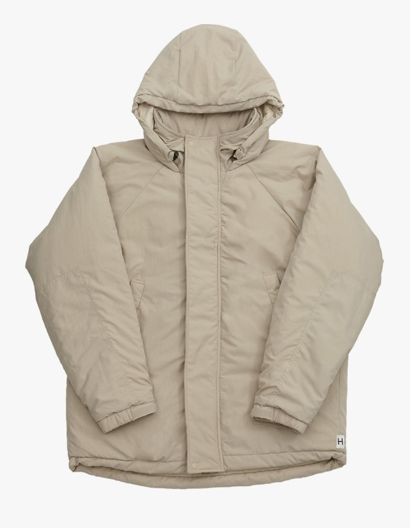 Heritage Floss Cold Parka - Beige | HEIGHTS. | 하이츠 온라인 스토어