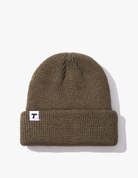 Theobalds Cap Co. Classic cuffed Team Beanie - Khaki | HEIGHTS. | 하이츠 온라인 스토어