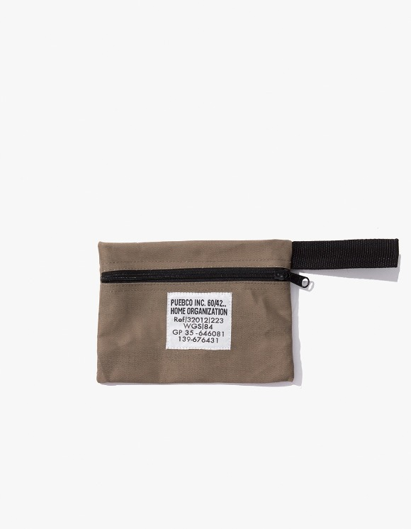 PUEBCO INC. Laminated Fabric Pouch - Short | HEIGHTS. | 하이츠 온라인 스토어