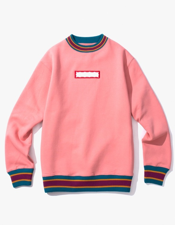have a good time Color Rib Crewneck - Indie Pink | HEIGHTS. | 하이츠 온라인 스토어