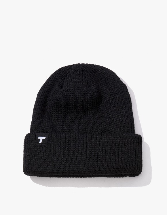 Theobalds Cap Co. Classic cuffed Team Beanie - Black | HEIGHTS. | 하이츠 온라인 스토어