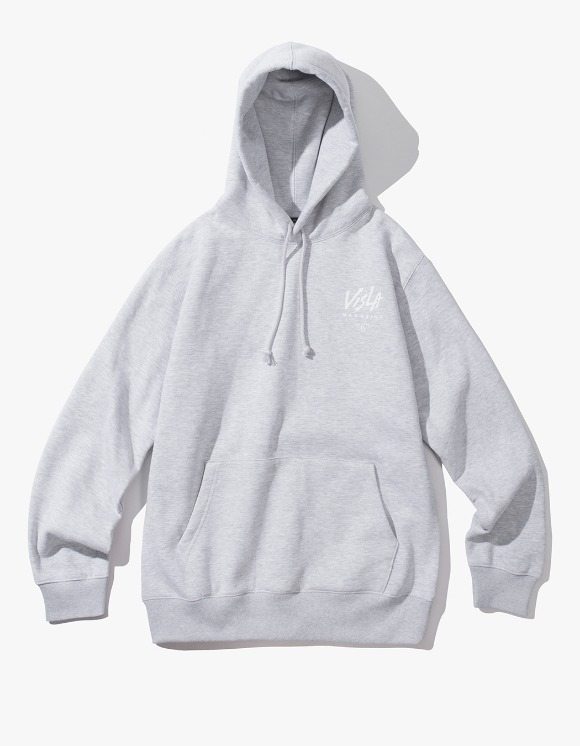 VISLA MAGAZINE Visla 6 Hoodie - Grey | HEIGHTS. | 하이츠 온라인 스토어