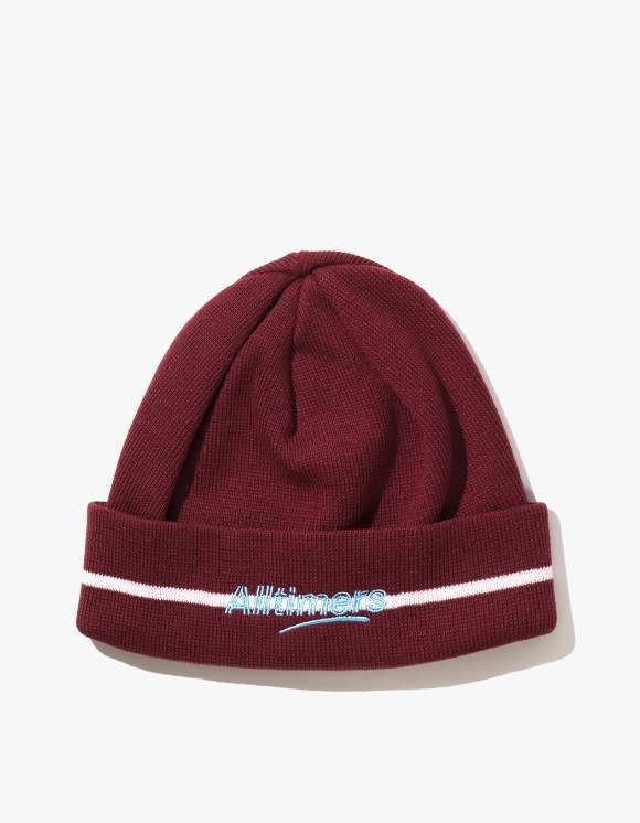 Alltimers Lined Estate Beanie - Burgundy | HEIGHTS. | 하이츠 온라인 스토어
