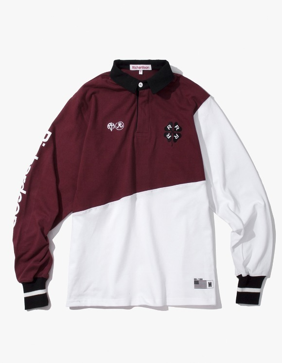 Richardson Rugby Long Sleeve - Oxblood | HEIGHTS. | 하이츠 온라인 스토어