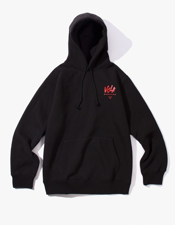 VISLA MAGAZINE Visla 6 Hoodie - Black | HEIGHTS. | 하이츠 온라인 스토어