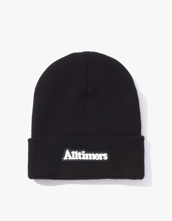 Alltimers Brodway Rubber Beanie - Black | HEIGHTS. | 하이츠 온라인 스토어