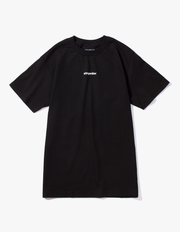 Stingwater Plant Logo Tee - Black | HEIGHTS. | 하이츠 온라인 스토어