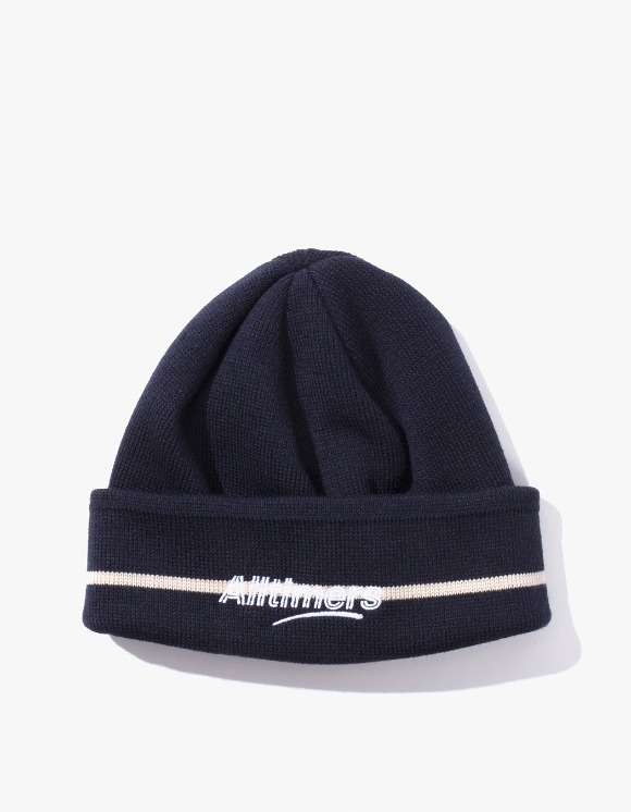 Alltimers Lined Estate Beanie - Navy | HEIGHTS. | 하이츠 온라인 스토어
