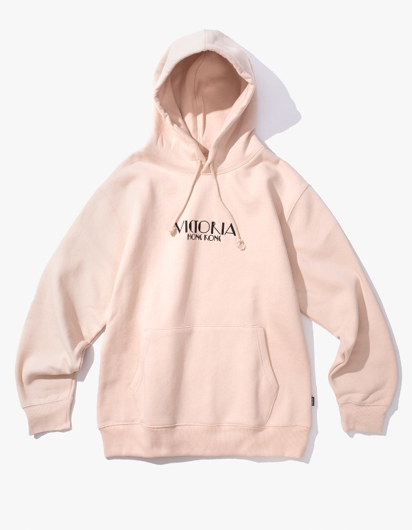 Victoria Hong Kong Lady Market Hoodie - Nude | HEIGHTS. | 하이츠 온라인 스토어
