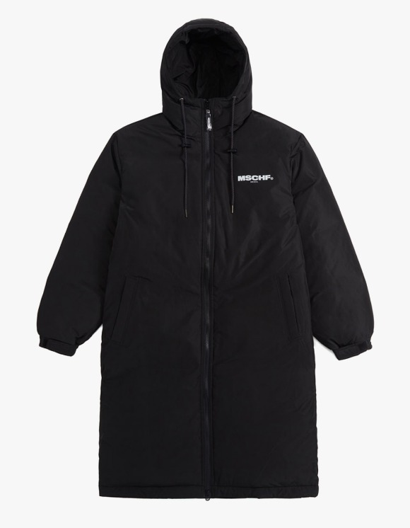 MISCHIEF Zip Up Long Down Parka - Black | HEIGHTS. | 하이츠 온라인 스토어