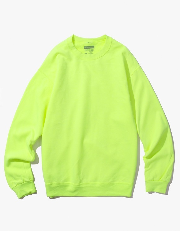 Stingwater Groe Together Sweater - Safety Green | HEIGHTS. | 하이츠 온라인 스토어