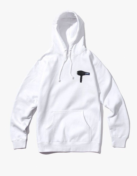 Alltimers Blow Dry Hoody - White | HEIGHTS. | 하이츠 온라인 스토어