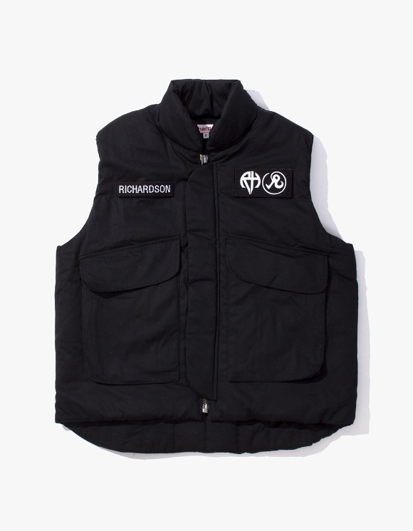 Richardson Insulated Flak Jacket - Black | HEIGHTS. | 하이츠 온라인 스토어