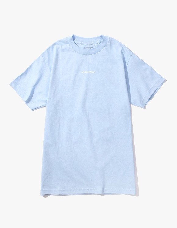 Stingwater Plant Logo Tee - B.Blue | HEIGHTS. | 하이츠 온라인 스토어