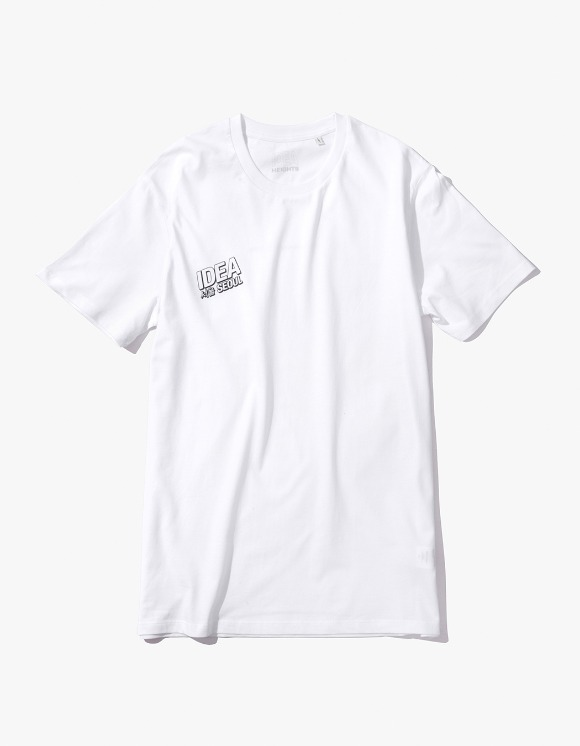 IDEA IDEA Seoul Night Market T-Shirt - White | HEIGHTS. | 하이츠 온라인 스토어