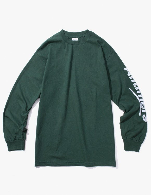 Alltimers Estate Puffy L/S Tee - Forest Green | HEIGHTS. | 하이츠 온라인 스토어