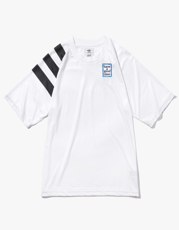 have a good time HAGT X ADIDAS Game Jersey - White | HEIGHTS. Online Store
