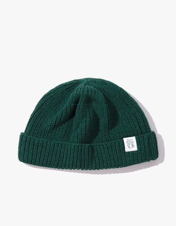 Victoria Hong Kong Flagtag Beanie - Turquoise | HEIGHTS. | 하이츠 온라인 스토어