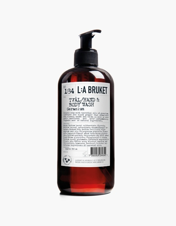 L:a Bruket Hand & Body Wash - Geranium (450ml) | HEIGHTS. | 하이츠 온라인 스토어