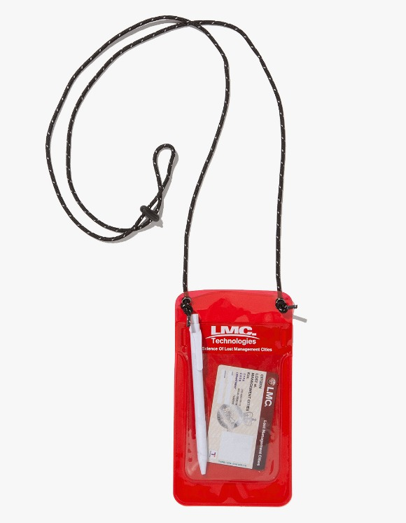 LMC LMC PVC POCKET PROTECTOR POUCH red | HEIGHTS. | 하이츠 온라인 스토어