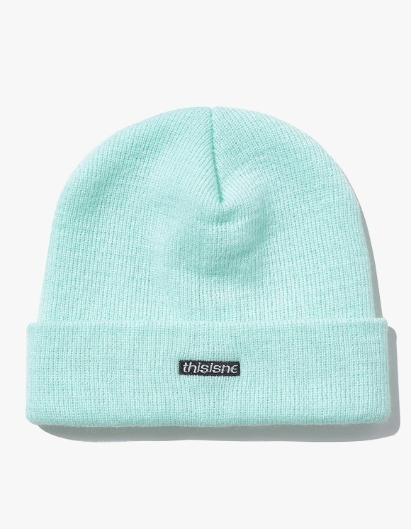 thisisneverthat HSP Short Beanie - Mint | HEIGHTS. | 하이츠 온라인 스토어