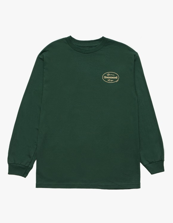 DAMNGOODLIFE Gooooood L/S Tee - Green | HEIGHTS. | 하이츠 온라인 스토어