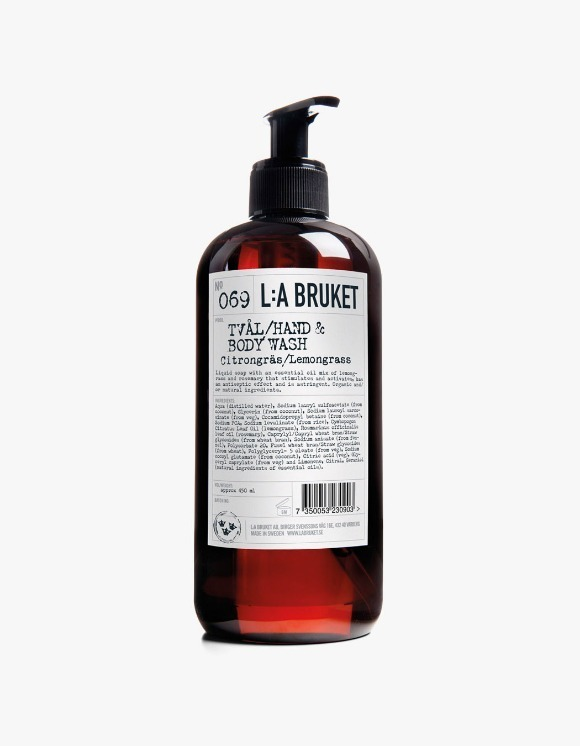 L:a Bruket Hand & Body Wash - Lemongrass (450ml) | HEIGHTS. | 하이츠 온라인 스토어