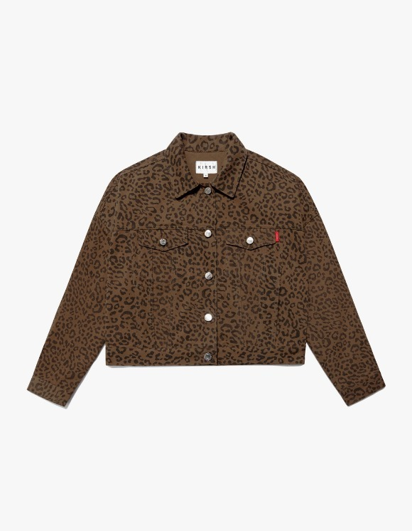 KIRSH Trucker Jacket IS - Leopard | HEIGHTS. | 하이츠 온라인 스토어