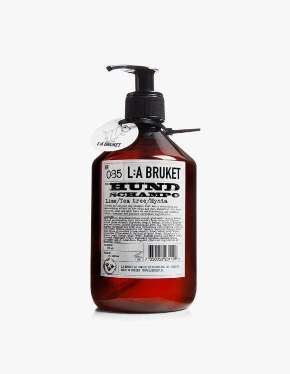 L:a Bruket Dog Shampoo - Lime/TeaTree/Mint (500ml) | HEIGHTS. Online Store