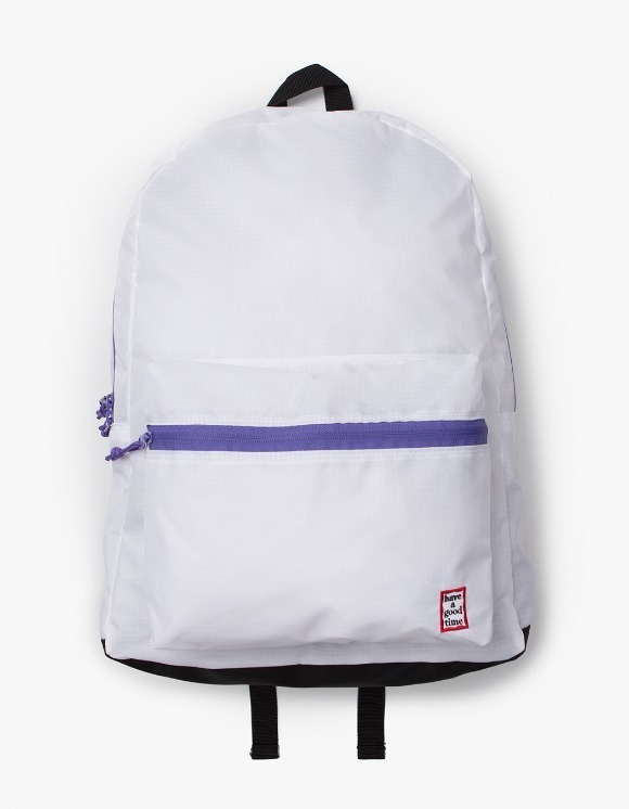 have a good time Frame Backpack - White | HEIGHTS. | 하이츠 온라인 스토어