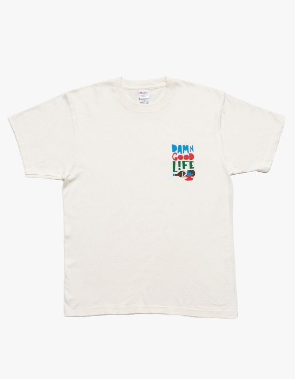 DAMNGOODLIFE Miss S/S Tee - Ivory | HEIGHTS. | 하이츠 온라인 스토어