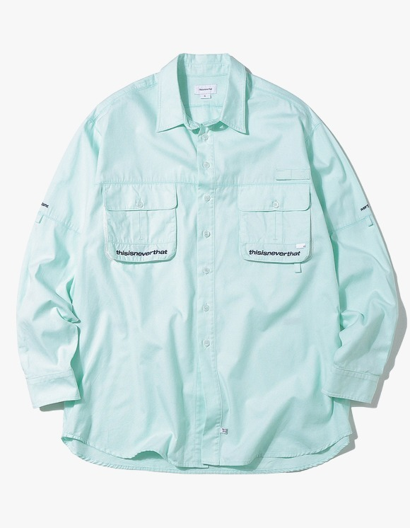 thisisneverthat Sports Fishing shirt - Mint | HEIGHTS. | 하이츠 온라인 스토어