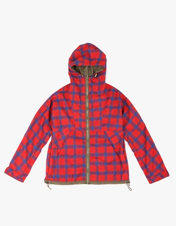 yeseyesee Check Mountain Parka - Red | HEIGHTS. | 하이츠 온라인 스토어