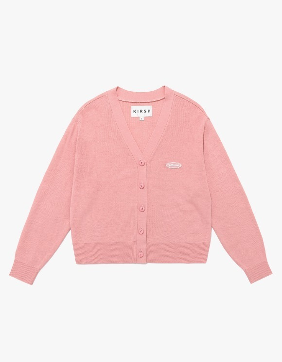 KIRSH Knit Slim Cardigan IS - Pink | HEIGHTS. | 하이츠 온라인 스토어