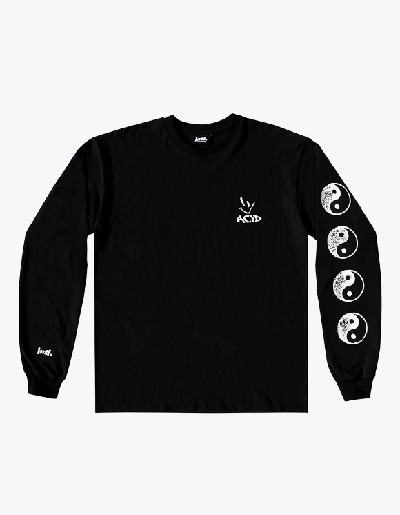 The Internatiiional ACID Yin Yang L/S Tee - Black | HEIGHTS. | 하이츠 온라인 스토어