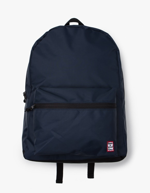 have a good time Frame Backpack - Navy | HEIGHTS. | 하이츠 온라인 스토어