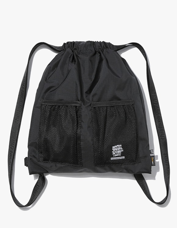 thisisneverthat Ripstop Cordura® 210D Gym Sack - Black | HEIGHTS. | 하이츠 온라인 스토어