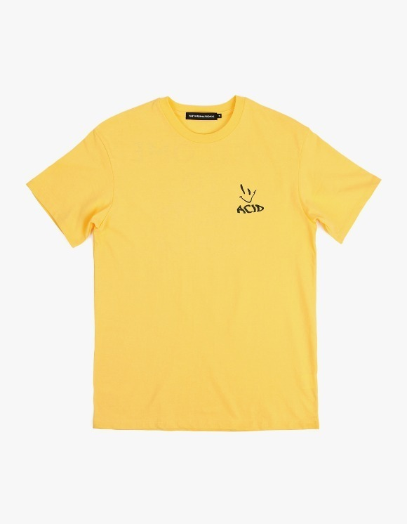 The Internatiiional ACID S/S Tee - Yellow | HEIGHTS. | 하이츠 온라인 스토어