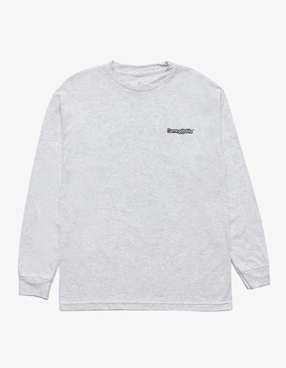 DAMNGOODLIFE Sick Earth L/S Tee - Ash | HEIGHTS. | 하이츠 온라인 스토어