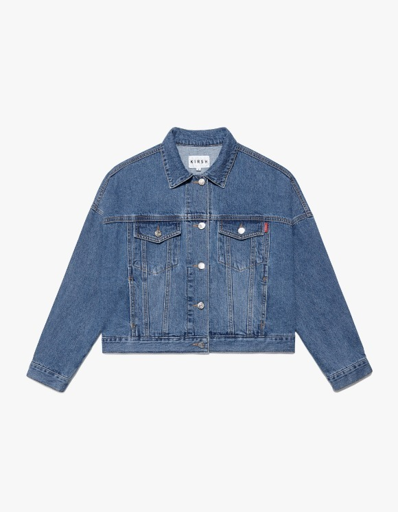 KIRSH Trucker Jacket IS - Blue | HEIGHTS. | 하이츠 온라인 스토어