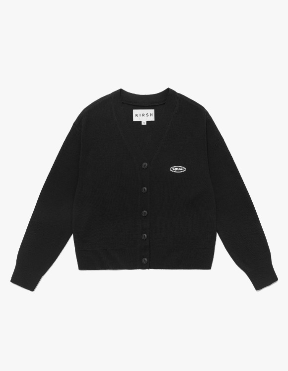 KIRSH Knit Slim Cardigan IS - Black | HEIGHTS. | 하이츠 온라인 스토어