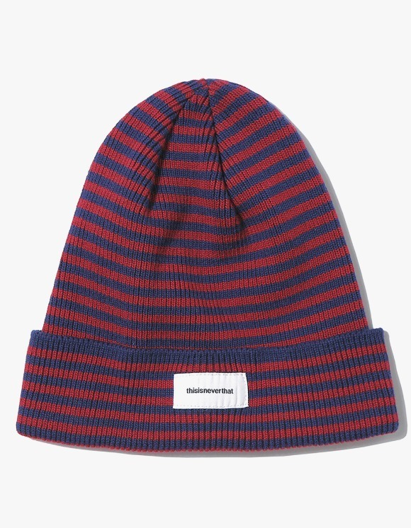 thisisneverthat Striped Beanie - Brick Red | HEIGHTS. | 하이츠 온라인 스토어