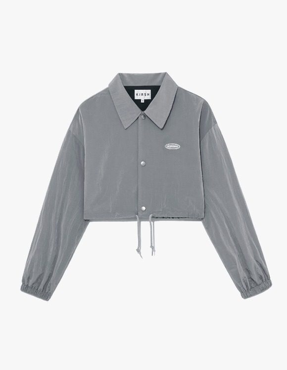 KIRSH Coach Short Jacket IS - Grey | HEIGHTS. | 하이츠 온라인 스토어